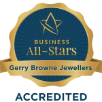 Gerry Browne Jewellers - Business All-Star Accreditation 2019