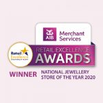 National Jewellery Store of the year award 2020, Gerry Browne Je