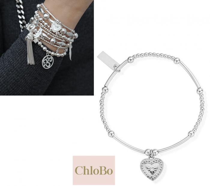 CHLOBO Star Heart Bracelet