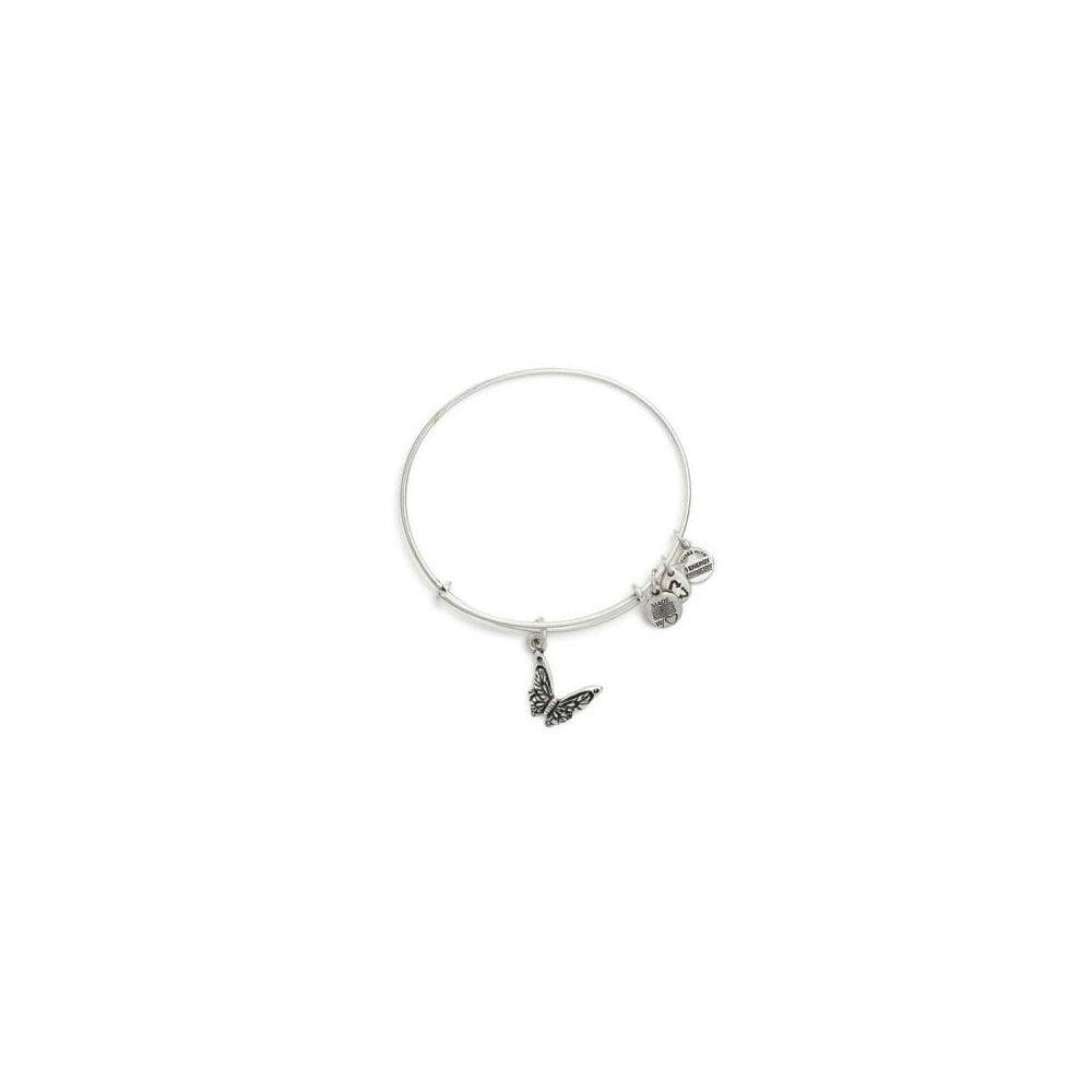 Alex Ani Silver Erfly Pieta House Charity Bracelet