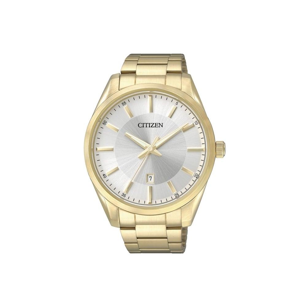 Gents Quartz Gold Plated Watch
