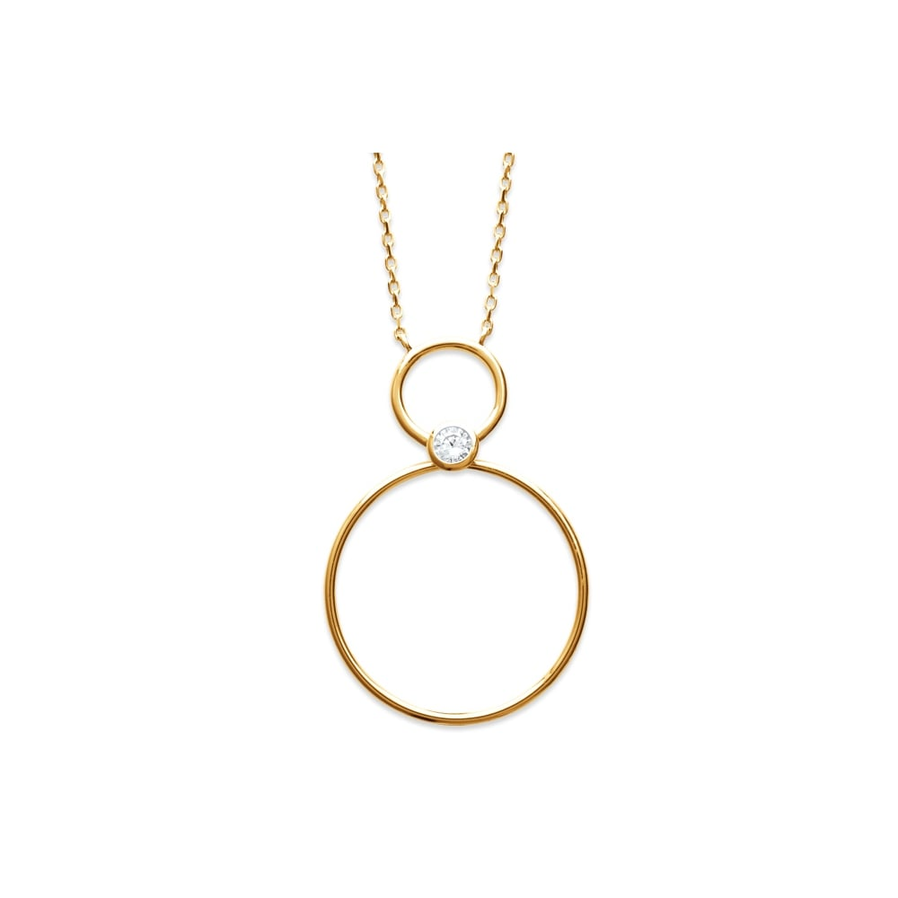 Burren double circle pendant products from gerry browne jewellers uk double circle pendant aloadofball Images