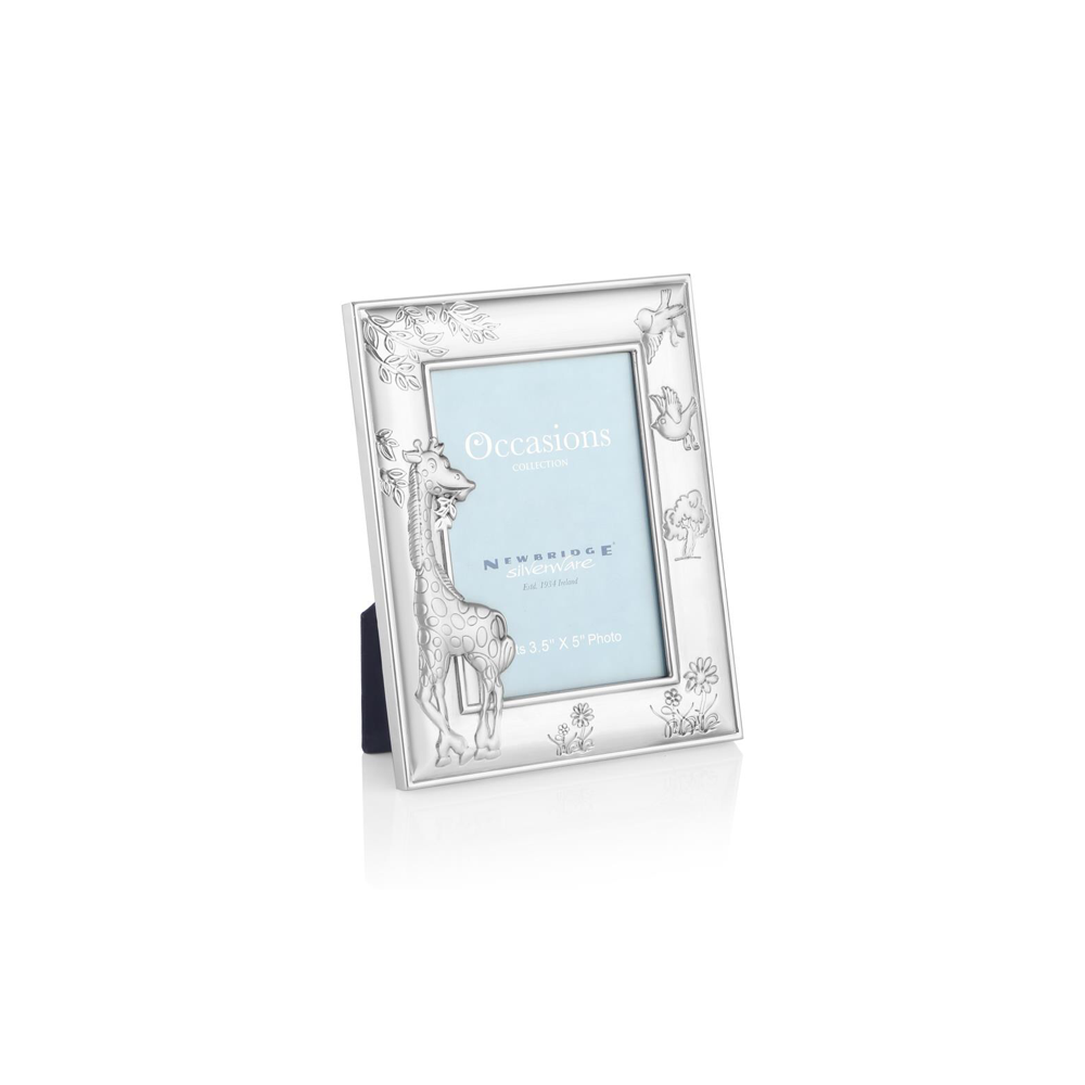 Newbridge Silverware Gifts Giraffe Baby Frame 3.5\