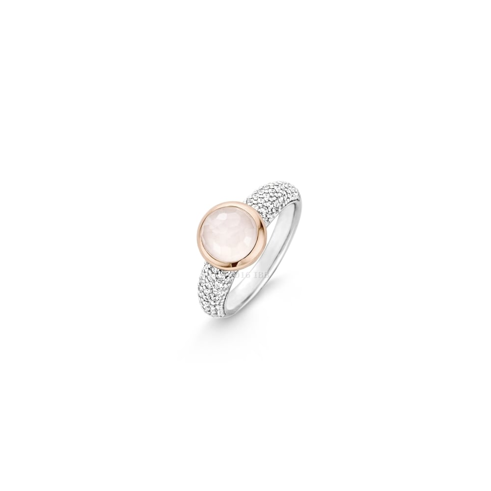 ring pink stone item three morganite and rings tourmaline