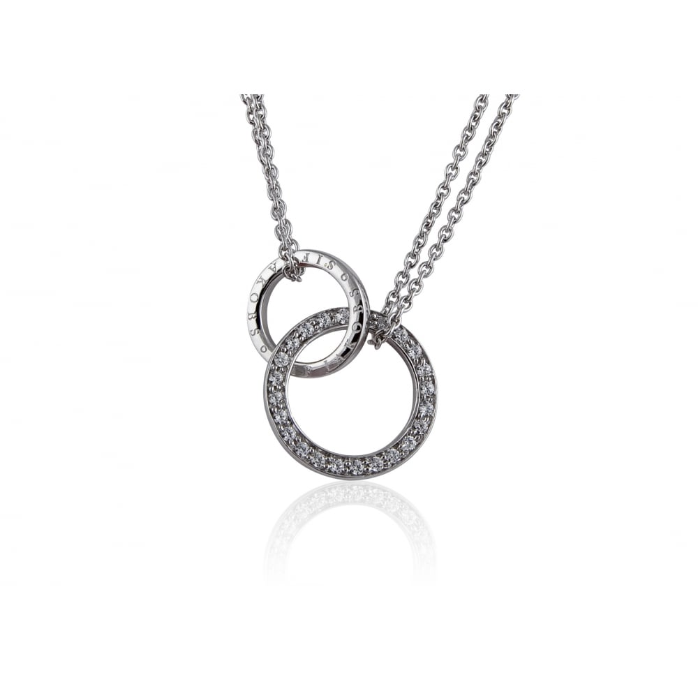 Sif jakobs double circle pendant products from gerry browne double circle pendant aloadofball Image collections