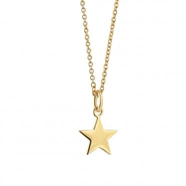 Star Gold Plated Pendant