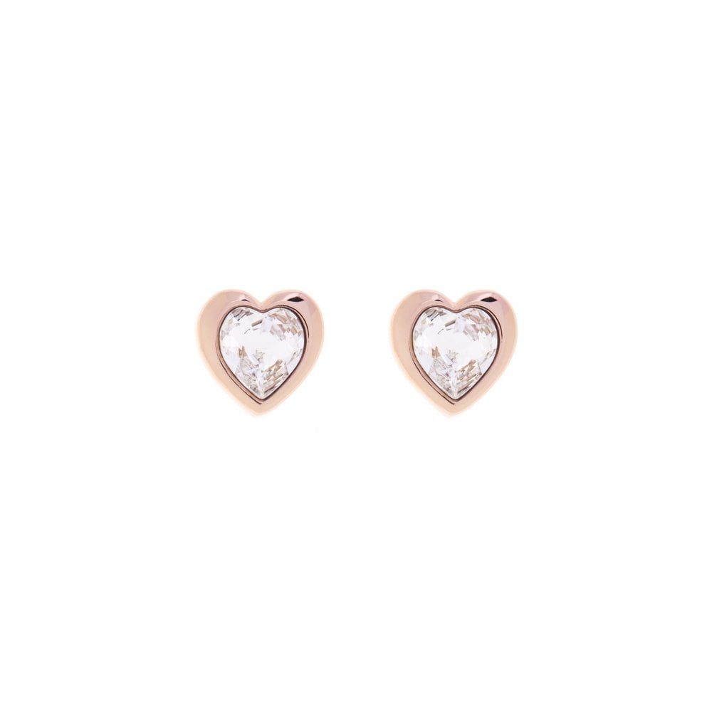 78f07d256c7e Ted Baker Clear Stone Rose Heart Earrings - Products from Gerry ...