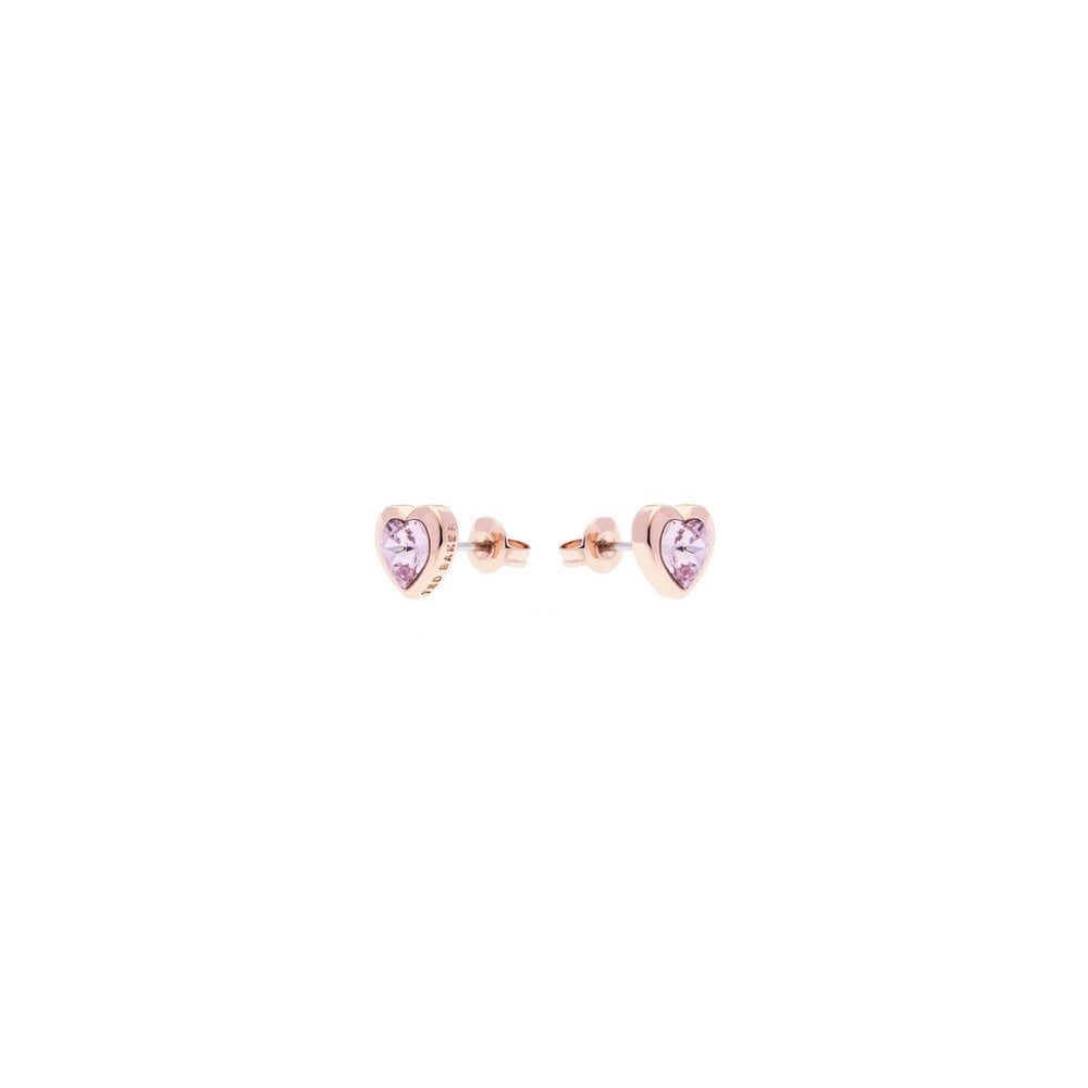 14b38277bea8 Ted Baker Rose Amethyst Coloured Crystal Stud Earrings - Products ...