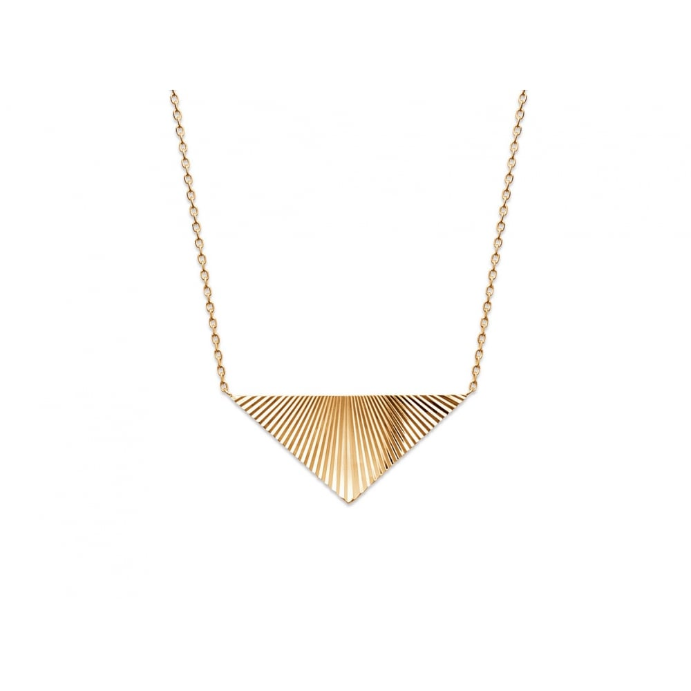 necklaces tone milano necklace sphera products collections plus two pendant yellow avery triangular copy
